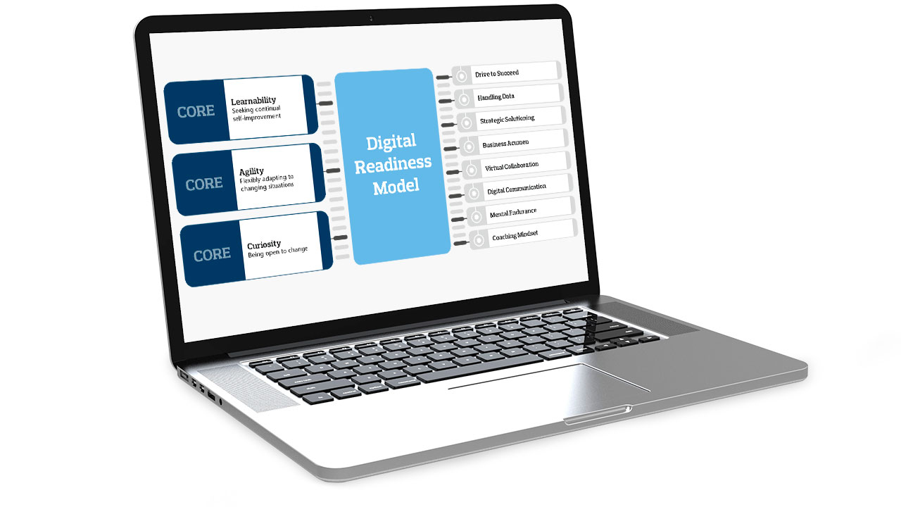Screenshot of Digital Readiness Model