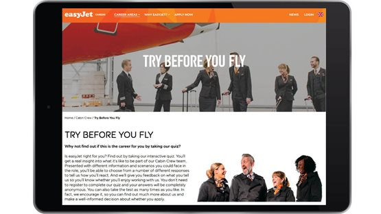Volume Recruitment with RJP at easyJet